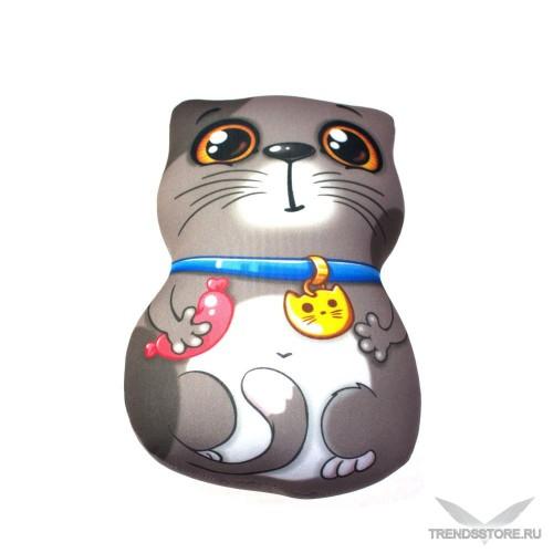 Кот обжорка мягкая игрушка