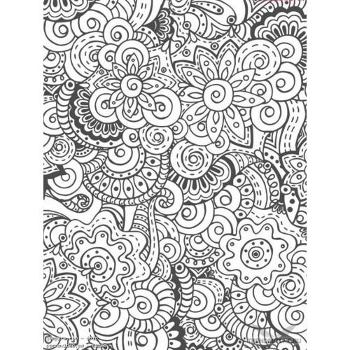 Раскраска - Узоры