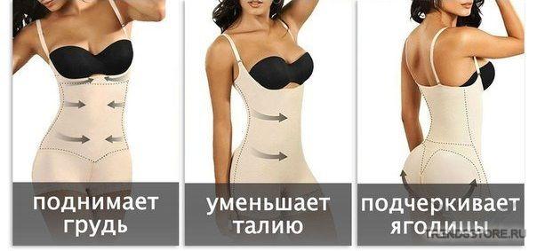 Комбидресс Slim Shapewear характеристики - 1